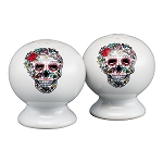 Salt and Pepper Set - Skull and Vine Sugar