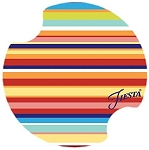 Fiesta® Thirstystone Multi Stripe Car Coaster