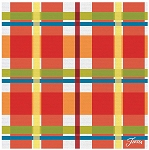 Fiesta® Thirstystone Plaid Coaster