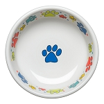 Scatter Print Dog Paws Small Bowl