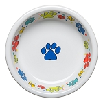 Scatter Print Dog Paws Medium Bowl