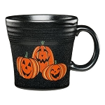 Tapered Mug, 15 Oz - Trio of Happy Pumpkins