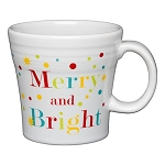 Tapered Mug, 15 Oz - Merry and Bright