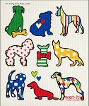 Dog Lover Multi Swedish Cloth