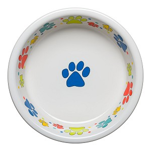 Scatter Print Dog Paws Extra Large Bowl