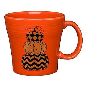 Tapered Mug, 15 Oz - Geo Pumpkin